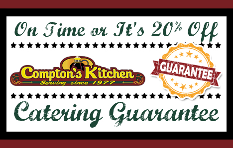 Compton's Kitchen Catering Lead Generation Certificate